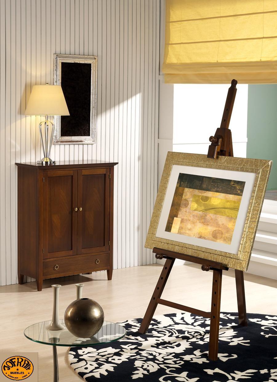 Zapatero 2 puertas 1 cajón + Caballete pintor
