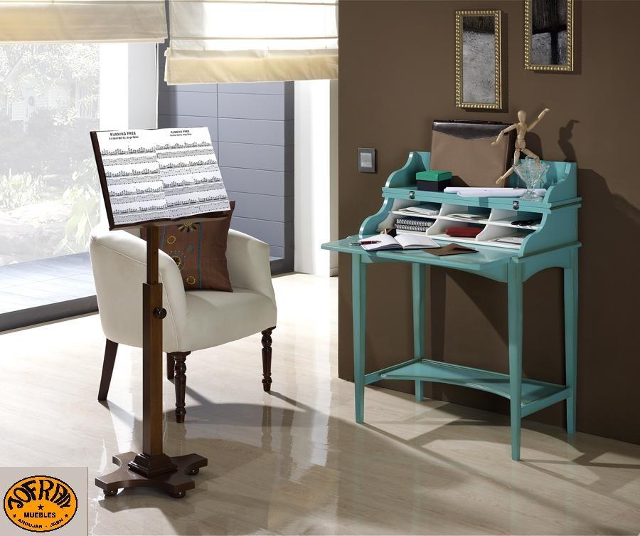 atril de pie altura regulable + escritorio