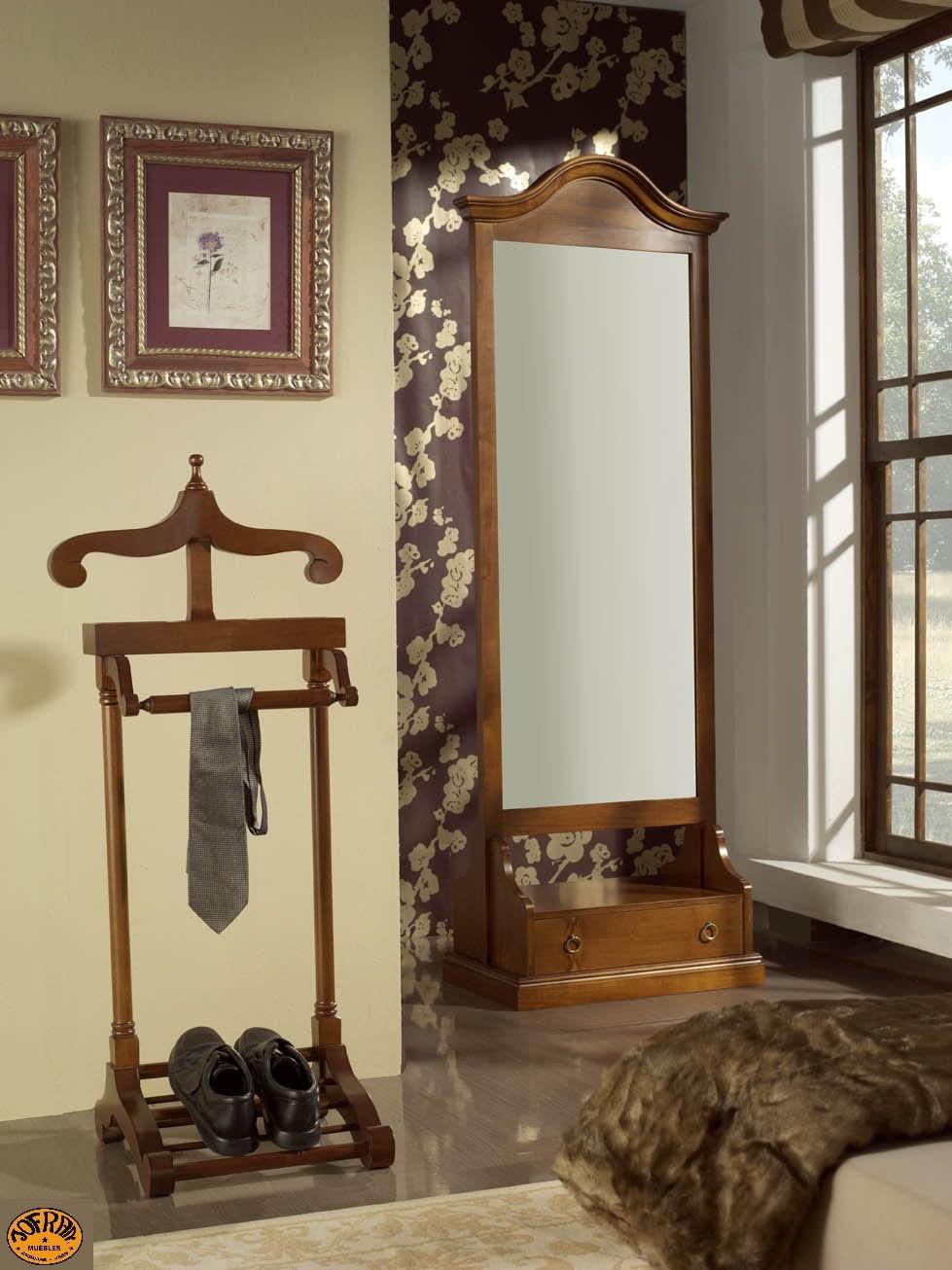 Galan y espejo vestidor