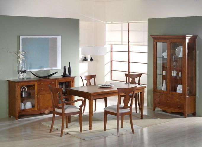 Aparador,mesa silla y sillon